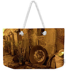 Rustic Buildings Weekender Tote Bag