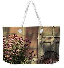 Rustic Corner Weekender Tote Bag
