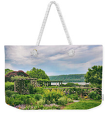 Rustic Garden Weekender Tote Bag by Jessica Jenney