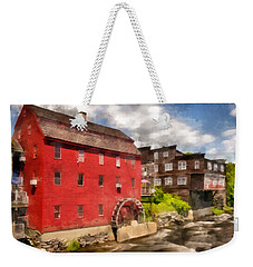 Rustic Historic Grist Mill Littleton, Nh Weekender Tote Bag