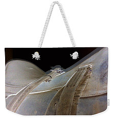 Rustic Horse Saddle Weekender Tote Bag