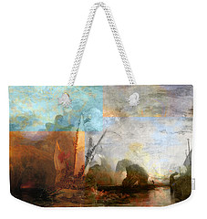 Rustic I Turner Weekender Tote Bag by David Bridburg