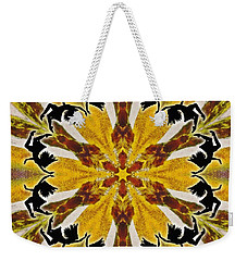 Weekender Tote Bag featuring the digital art Rustic Lifespring by Derek Gedney