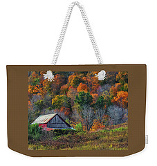 Rustic Out Building In Southern Ohio  Weekender Tote Bag