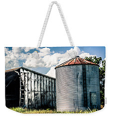 Rustic Weekender Tote Bag