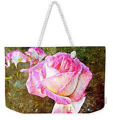 Rustic Rose Weekender Tote Bag by Leanne Seymour