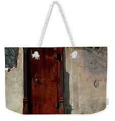 Rustic Ruin Weekender Tote Bag by Lori Mellen-Pagliaro