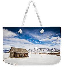 Rustic Shack Weekender Tote Bag by Sean Allen