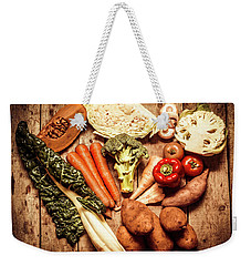 Rustic Style Country Vegetables Weekender Tote Bag by Jorgo Photography - Wall Art Gallery