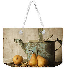 Weekender Tote Bag featuring the photograph Rustica by Amy Weiss