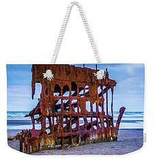 Rusting Peter Iredale Weekender Tote Bag