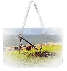 Rusty Anchor Weekender Tote Bag