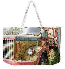 Rusty And Crusty Reo Truck Weekender Tote Bag