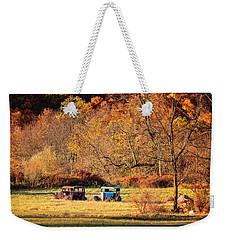Rusty And Oldie Weekender Tote Bag by Eduard Moldoveanu