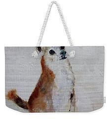 Rusty Being A Good Boy Weekender Tote Bag