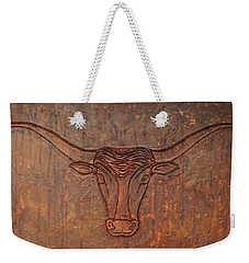 Rusty Bevo Weekender Tote Bag