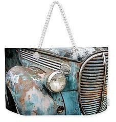 Rusty Blues Weekender Tote Bag by David Lawson