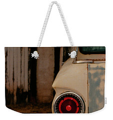 Rusty Car Weekender Tote Bag by Heather Kirk