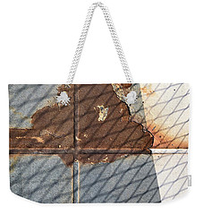Rusty Cross Weekender Tote Bag