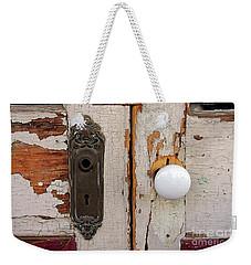 Rusty Crusty Door Weekender Tote Bag