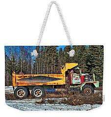 Rusty Dump Truck Weekender Tote Bag