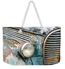 Rusty Ford 85 Truck Weekender Tote Bag by David Lawson
