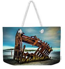Rusty Forgotten Shipwreck Weekender Tote Bag