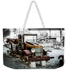 Rusty International Truck Weekender Tote Bag