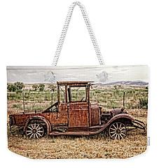 Rusty Jalopy Weekender Tote Bag