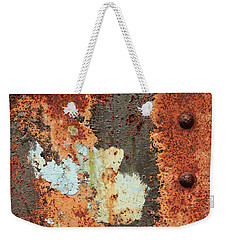 Rusty Layers Weekender Tote Bag