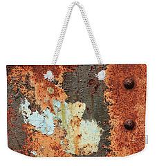 Rusty Layers Weekender Tote Bag
