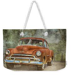 Rusty Weekender Tote Bag by Pamela Williams