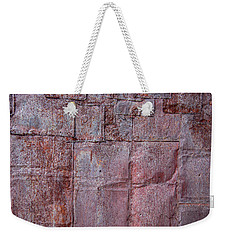 Rusty Patchwork Weekender Tote Bag
