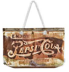 Rusty Pepsi Cola Weekender Tote Bag