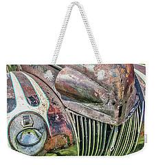 Rusty Road Warrior Weekender Tote Bag