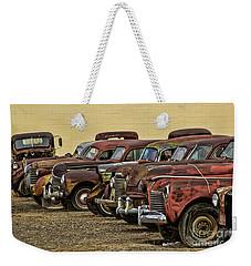 Rusty Row Weekender Tote Bag