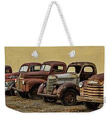 Rusty Trucks Weekender Tote Bag