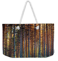 Rusy Forest Weekender Tote Bag