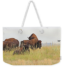Rut Season For Buffalo 0077 Weekender Tote Bag