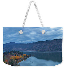 Ruthton Point During Evening Blue Hour Weekender Tote Bag