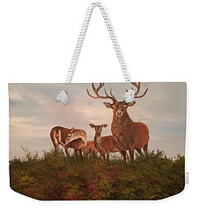 Rutting Season Weekender Tote Bag