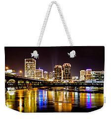 Rva Holiday Skyline 3 Weekender Tote Bag