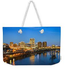 Rva Night Weekender Tote Bag