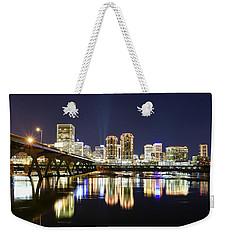 Rva Night Lights Weekender Tote Bag