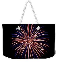 Rvr Fireworks 48 Weekender Tote Bag by Mark Dodd