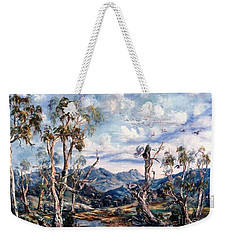 Rwetyepme, Mount Sonda Central Australia Weekender Tote Bag