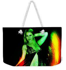 Weekender Tote Bag featuring the digital art Ryan 2 by Mark Baranowski
