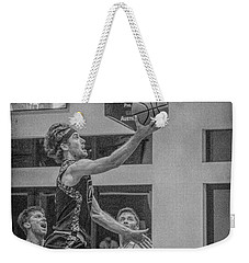 Weekender Tote Bag featuring the photograph Ryan Blaney   by Ronald Santini