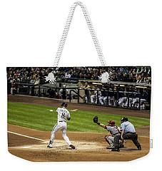 Ryan Braun  Weekender Tote Bag