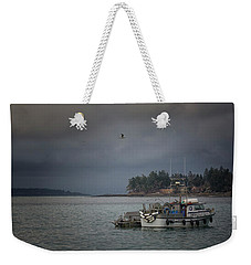 Weekender Tote Bag featuring the photograph Ryan D by Randy Hall